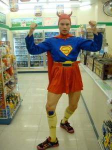 Aaron aka Supergirl!