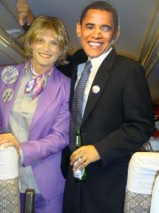 Hilary & Obama