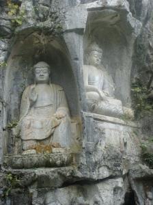 Buddha carvings