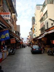 Streets of Taichung