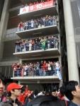 F1 fans inShanghai