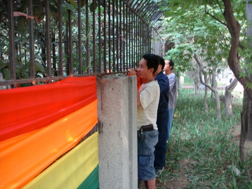 Gay Pride is a new concept for many in China
